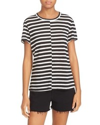 Stripe linen tee medium 1159316