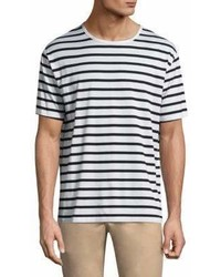 rag & bone Striped Cotton Tee