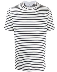 Brunello Cucinelli Striped Crew Neck T Shirt