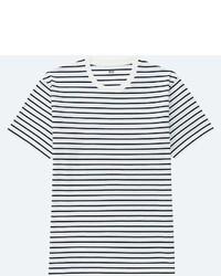 Uniqlo Striped Crewneck Short Sleeve T Shirt