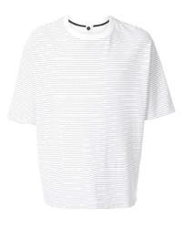 Bassike Striped Round Neck T Shirt