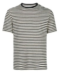 Officine Generale Striped T Shirt