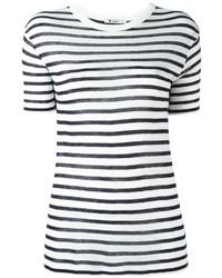 T by striped t shirt medium 1159342