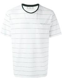 AMI Alexandre Mattiussi Thin Stripe T Shirt