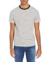 French Connection Tim Stripe T Shirt