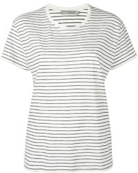 Vince Striped Relaxed T Shirt