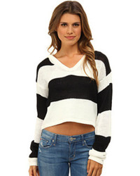 MinkPink Never Enough Stripe Knit