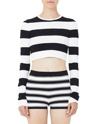 Marc Jacobs Stripe Crop Sweater