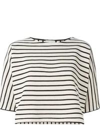 Cropped stripe top medium 205523