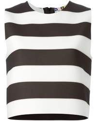 MSGM Cropped Stripes Top