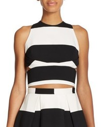 Nicholas N Orchard Striped Cropped Top