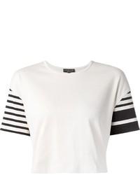 Rag bone striped sleeve t shirt medium 272056