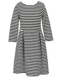 Soprano Big Girls 7 16 34 Sleeve Striped Skater Dress