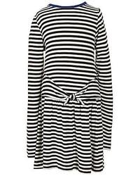 Copper Key Little Girls 4 6x Striped Knit Mock Tie Dress
