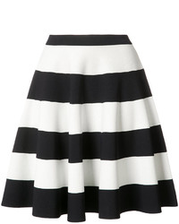 Akris punto striped full skirt medium 1252985