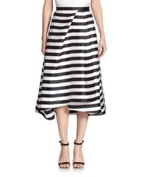 Nicholas Striped Midi Skirt