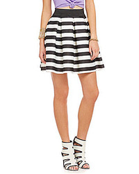 Soprano Wide Stripe Sponge Skirt