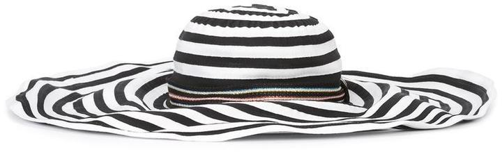 Missoni Striped Wide Brim Hat 6f2296f8a655