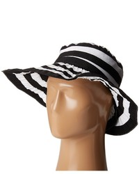 Rbl4792 crossback striped ribbon hat traditional hats medium 1252295