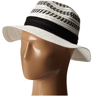 ... Vince Camuto Striped Fedora Hat ... e10c0252bed