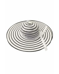 Tu Anh Boutique White Stripe Sunhat