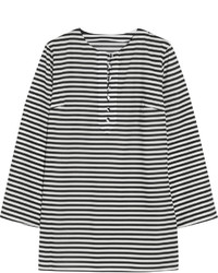 Dolce & Gabbana Striped Cotton Poplin Tunic