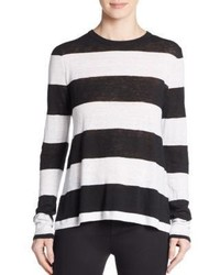 A.L.C. Maybeck Striped Linen Tee