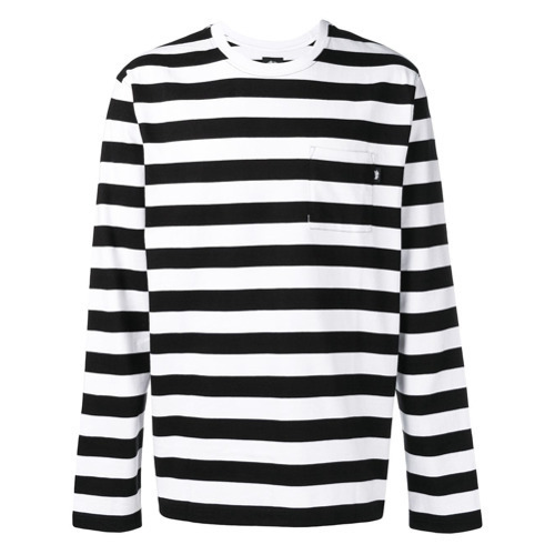 Stussy Horizontal Striped T Shirt