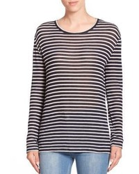 IRO Lachlan Striped Long Sleeve Tee