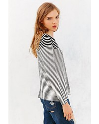 Urban Outfitters Mouchette Modern Mixed Stripe Tee