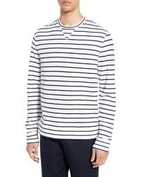 Club Monaco Narrow Stripe Duofold T Shirt