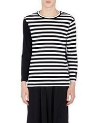 Yohji Yamamoto Pour Homme Jersey Long Sleeve T Shirt Multi