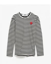 Striped ls tee medium 454078