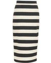 Guy striped pencil skirt medium 322402