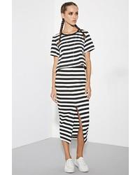 Forever 21 The Fifth Label Delta Stripe Skirt