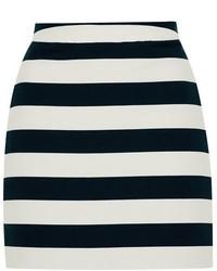 Topshop Bold Stripe Pelmet Skirt