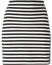 MICHAEL Michael Kors Michl Michl Kors Striped Mini Skirt