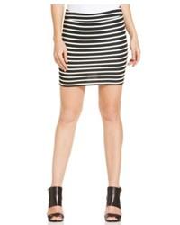 Sanctuary Striped Mini Skirt