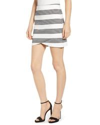 Bishop + Young Stripe Miniskirt
