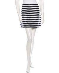 Rodarte Striped Mini Skirt