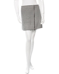 Bouchra Jarrar Striped Mini Skirt W Tags