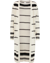 Madeleine Thompson Hamam Striped Cashmere Cardigan