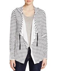 Cupio Striped Hooded Cardigan
