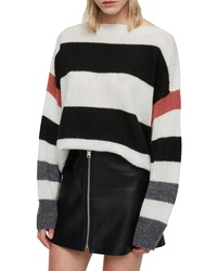 AllSaints Suwa Stripe Sweater