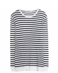 Alexander Wang T By Striped Sweater