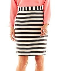 jcpenney Worthington Fashion Pencil Skirt