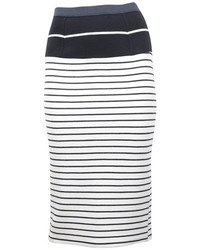 Tanya Taylor Peggy Striped Skirt