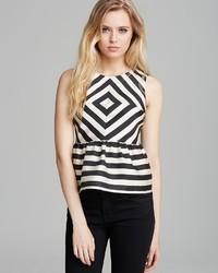 Top lysia silk stripe medium 24955