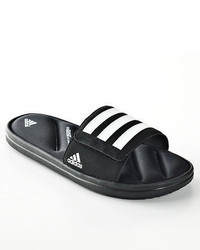 adidas New Zeitfrei Fitfoam Slide Sandals Blackwhite Size 8 9 10 11