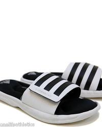 adidas Superstar 3g Slide White Casual Athletic Sport Sandal G61951